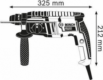 Bosch Professional GBH 2-20 D specs
