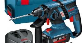Bosch Professional GBH 36 V-EC accu - review test